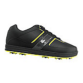 Crocs Mens Tyne Golf Shoes (Blk Yellow) - Black