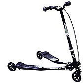 Homcom Kids 3 Wheels Foldable Speeder Push Scooter Tri Slider small Black