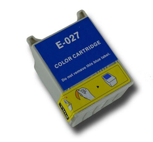 Colour T027 Compatible Epson Clown Fish non-OEM ink cartridge for Epson Stylus