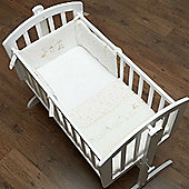 OBaby Hello Little One 3pc Crib Set (Cream)