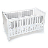 BreathableBaby 2 Sided Mesh Cot Liner - Grey Mist