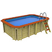Wooden Exercise Wooden Pool Without Counter Current 2.4m x 3.9m