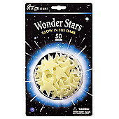 Wonder Stars - 50 Glow In The Dark Stars - University Games