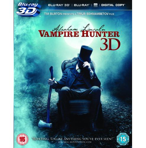 Abraham Lincoln: Vampire Hunter 3D Blu Ray