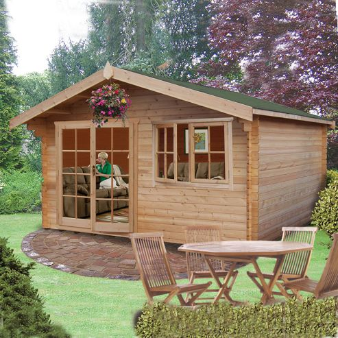 Buy Finewood Abbeyford Log Cabin 12 X 12 From Our Log