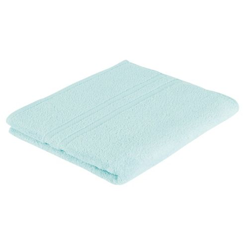 Tesco 100% Combed Cotton Bath Towel Spearmint Green