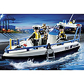 Playmobil City Action Patrol Boat