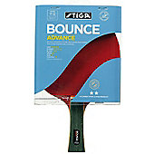 Stiga 2 Star Bounce Advance Table Tennis Bat