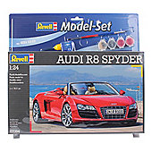 Revell Audi R8 Spyder 1:24 Scale Model Set