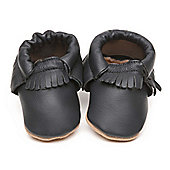 Cherry Kids Moccasins Baby Shoes Blue - Blue