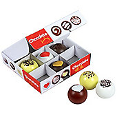Santoys ST695 Wooden Play Food Box of Chocolate Truffles