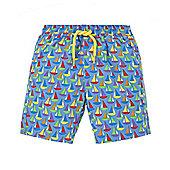Boat Print Swimming Shorts - Multi