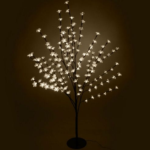 Buy 18m 350 warm white led cherry blossom tree from our for Cherry tree floor lamp