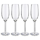 Set of 4 Timeless Classic Champagne Glasses