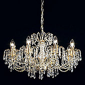 Endon Lighting Eight SES Lamp Chandelier in Chrome