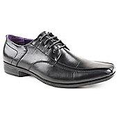 Caravelle Mens Avalon Black Lace-up Formal Shoes