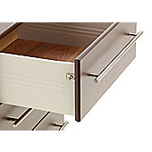 Ideal Furniture New York 6 Drawer Slim Chest - Beech