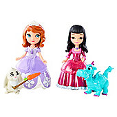 Disney Sofia the First Princess Sofia and Vivian with Animal Friends