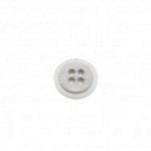 Dill Buttons 20mm Rnd Rebate Grey