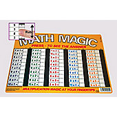 Zoobookoo Multiplication Random Math Magic Mat