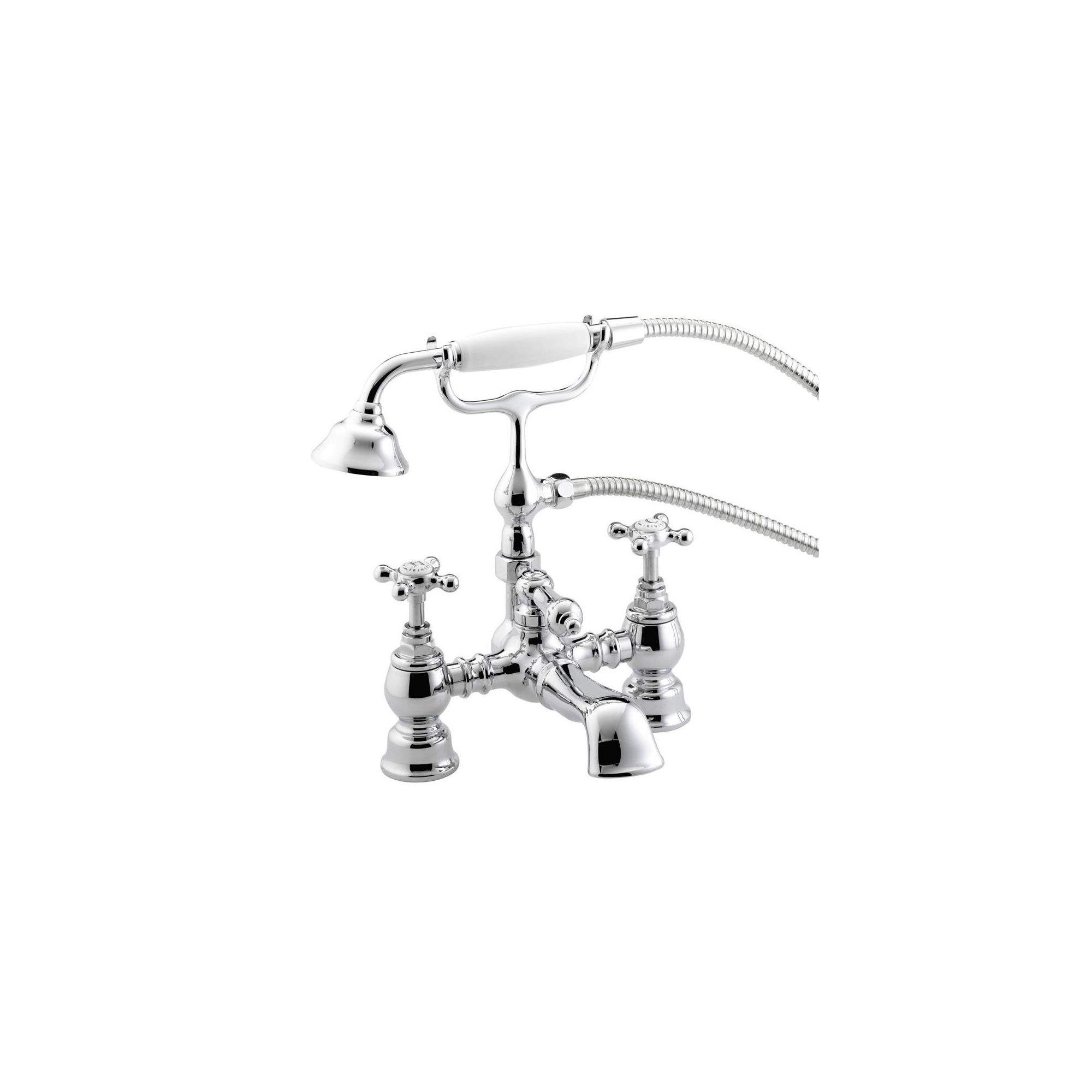 Bristan Trinity Bath Shower Mixer Tap Chrome Plated at Tesco Direct