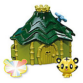 Moshi Monsters Moshling Habitat Playset - Beasties Jungle Hut