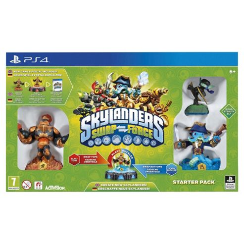 Skylanders Swap Force Starter Pack (PS4)