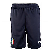2014-15 Italy Puma Training Shorts (Navy) - Kids - Navy