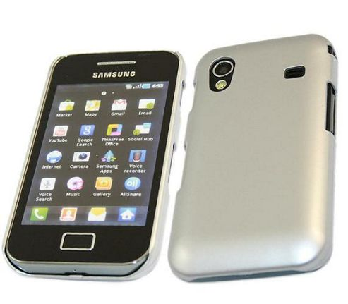 iTALKonline Back Cover SnapGuard Protection Case Silver - For Samsung S5830 Galaxy Ace