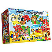 Pip Ahoy! 4 in 1 Jigsaw Puzzles 6, 9, 12 and 24 Piece - Games/Puzzles