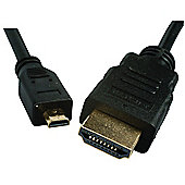 HDMI to Micro HDMI Lead 2m