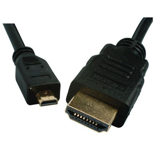 HDMI to Micro HDMI Lead 2m