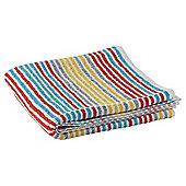 Tesco Bright Core Stripe Bath Sheet - Multi