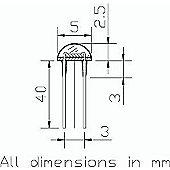 27k-94k Ohm Light Dependent Resistor
