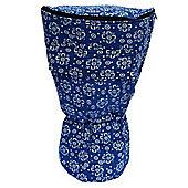 """World Rhythm XL Blue 12"""" Djembe Drum Bag"""