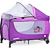 Caretero Grande Travel Cot (Purple)
