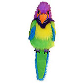 The Puppet Company Large Bird Plum-Headed Parakeet