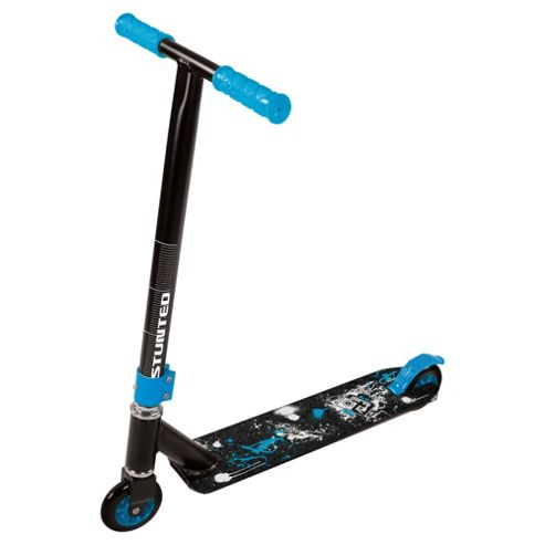 MV Sports Stunted Stunt Scooter, Blue/Black