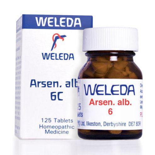 Weleda Arsen Alb 6 125 Tablets