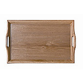 G.E.T Hardwood Room Service Tray in Natural - 35.6cm W x 45.7cm D