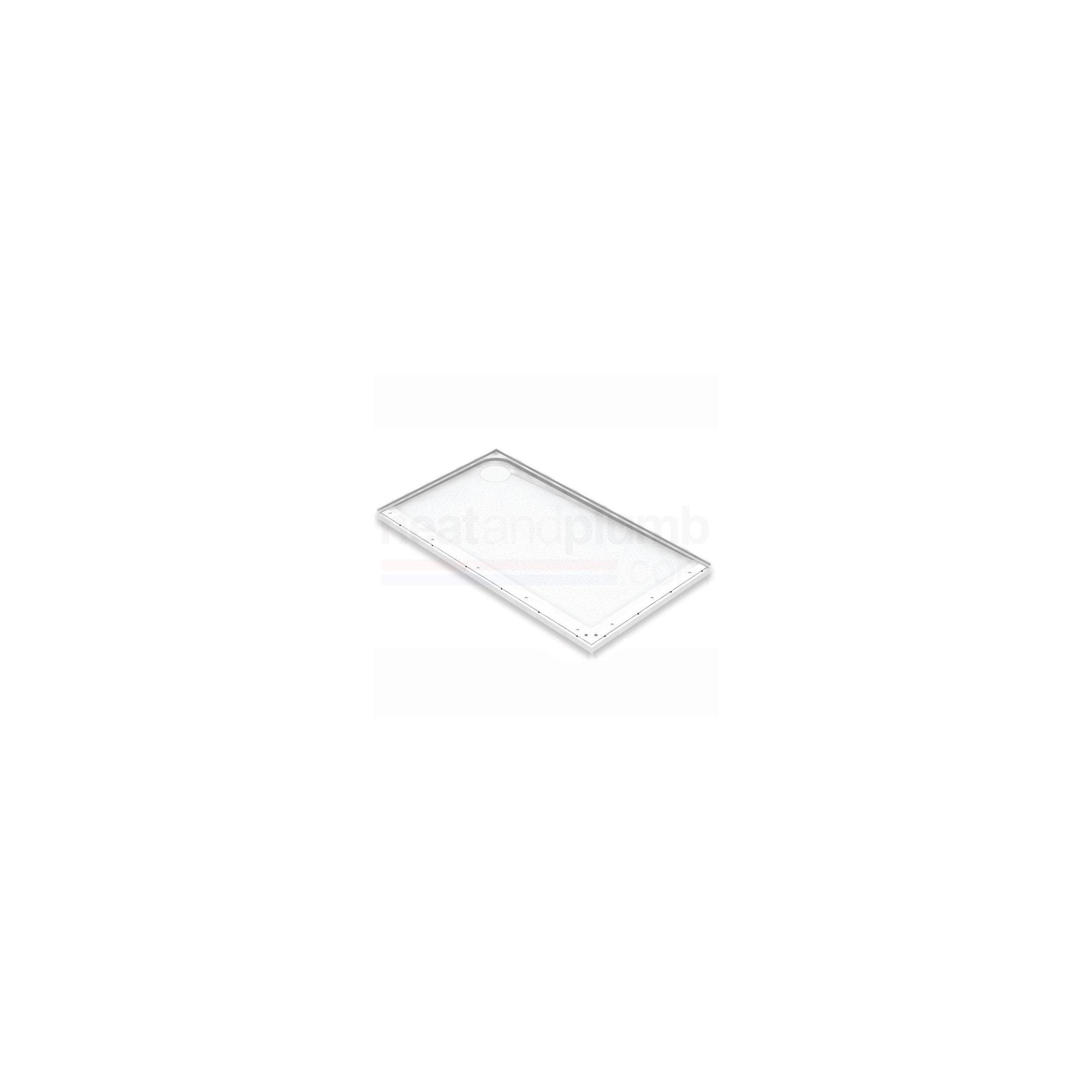 AKW Mullen Rectangular Shower Tray 1300mm x 700mm at Tesco Direct