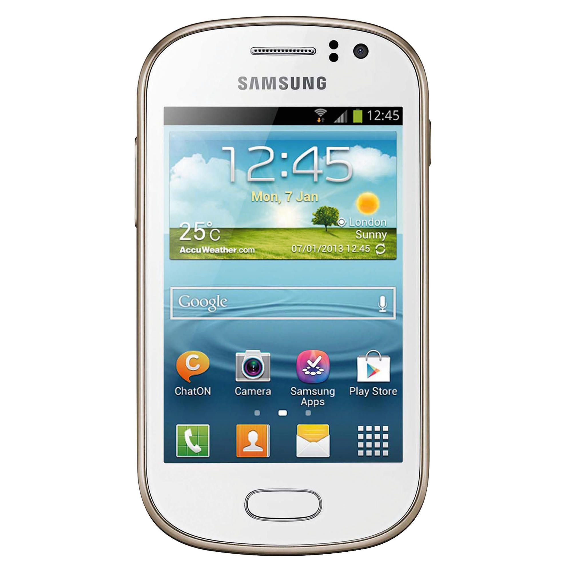 Tesco Mobile Samsung Galaxy Fame White