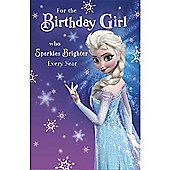Disney Frozen Birthday Card