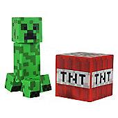 """Minecraft 3"""" Figure Series 1 Overworld Creeper"""