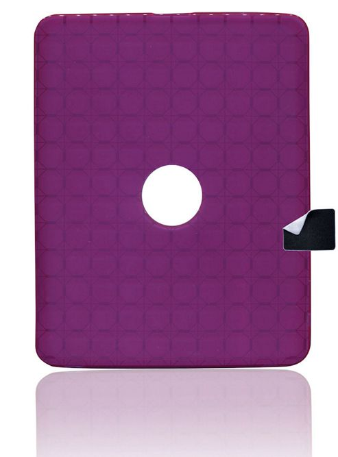 U-bop gSHELL Tough All-Body Case and StampWIPE Smoke Purple - For Apple iPad 2