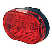 Smart 3 LED Rear light Red (2xAAA batt. inc.)