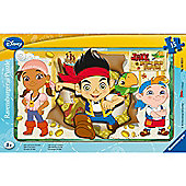 Puzzle - Jake & The Neverland Pirates - Disney Frame Puzzle 15 Pcs - Ravensburger