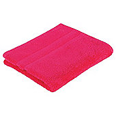 Tesco 100% Combed Cotton Hand Towel Fuschia