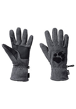 Jack Wolfskin Paw Gloves - Grey