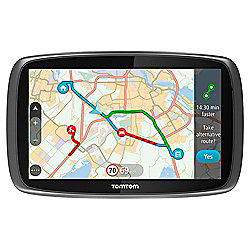 "Tomtom Go 610 Sat Nav. 6"" Touchscreen, Free Lifetime World Maps, Traffic Updates and Speed Camera Updates"